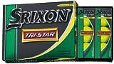 DUNLOP(ダンロップ) SRIXON スリクソン トライスター TRI-STAR プレミアムパッションイエロー 12P