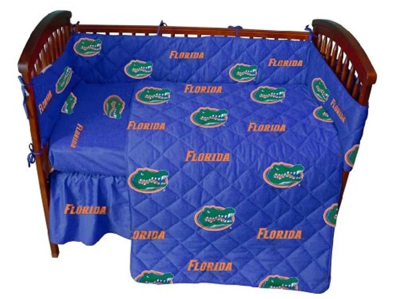 College Covers Florida Gatorsベビーベッドフィットシート ブルー FLOCSFSWPR