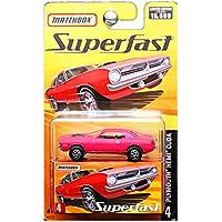 2005 Matchbox Superfast Plymouth Hemi Cuda Bright Pink #4 by Mattel