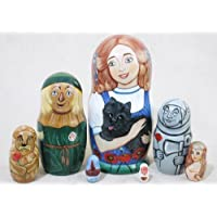 Wizard of Oz Russian Nesting Doll 7pc./6 by Golden Cockerel [並行輸入品]