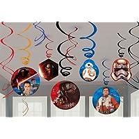 スターウォーズ 飾り 誕生日 バースデー パーティーグッズ Star Wars Swirl Decorations