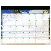 "at-a-glance月12月、1月2019–カレンダーデスクパッド2019、22"" x 17""トロピカルエスケープ(dmdte232)"