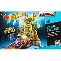 Hot Wheels Cyborg Challenge Track Set [並行輸入品]