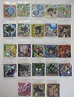 ドラゴンボール 超戦士 シール ウエハースZ 全23種 フルコンプ