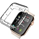 「【2セット】Newzerol For Apple Watch Series 4 44mm 2018 ケース【耐衝撃・TPU・シンプル・携帯カバー】Apple Watch 44mm Series 4 用...」のサムネイル画像