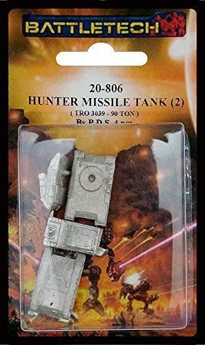 BATTLETECH 20-806 Hunter Missile Tank (2 miniatures)