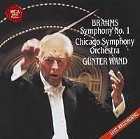Brahms: Symphony No. 1 & Schubert by Gunter Wand (2013-11-20)