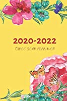 3 Year Planner 2020-2022 Yellow Three Years Monthly Schedule Organizer With Holidays: Pocket Mini Academic 36 Months Calendar; Slim Agenda Planner; Small Goals Journal & Purse Diary Notebook With Inspirational Quotes