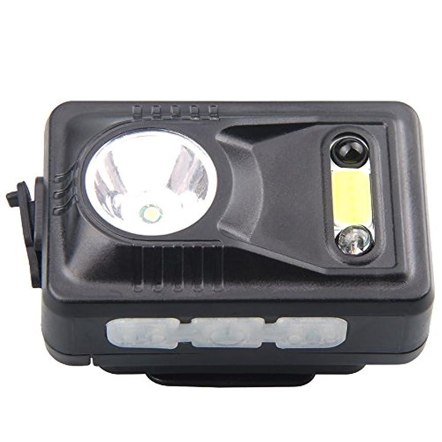 自発的添付冷えるMUTANG 屋外LED誘導ヘッドライトクランプキャップライトウェア充電釣りヘッドランプミニ夜釣りライト調整可能なUSBスマート高速充電キャップライト