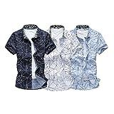 (Make 2 Be) カジュアル 長袖 半袖 メンズ シャツ 夏 オーソドックス ブラウス MF48
