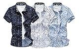 ( Make 2 Be ) カジュアル 長袖 半袖 メンズ シャツ 夏 オーソドックス ブラウス MF48