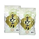 ご自宅用に 新潟産コシヒカリ 笹神米 新米・29年産 白米 精米 20kg 10kg×2袋