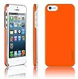 """[正規品]araree - half series for iPhone5S/5 <br/> iPhone5のデザインにピッタリなハーフタイプ/ <br/>ICカード一枚収納可能 (オレンジ)"""" /></a><br/><a rel="""