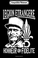 Composition Notebook: Legion Etrangere Paratrooper French Foreign Regiment  Journal/Notebook Blank Lined Ruled 6x9 100 Pages