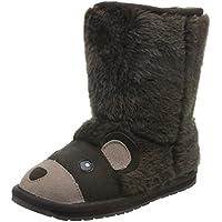EMU Australia Kids Brown Bear Deluxe Wool Boots