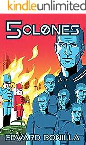 5 Clones (English Edition)