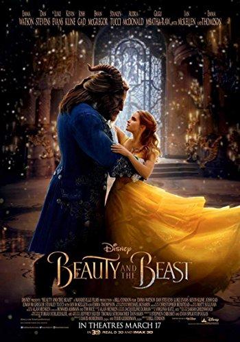 US版ポスター 美女と野獣 2017 Beauty and Beast ディズニー re2 69×101cm 両面印刷 D/S [並行輸入品]
