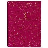 アーティミス 日記帳 3年連用 星座 赤 DP3-SE RD