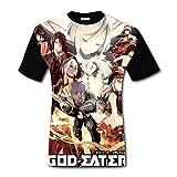 God Eater Resurrectionメンズ半袖TシャツTシャツクール,ファッション半袖Tシャツ