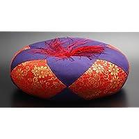 京仏壇はやし 仏具 丸布団 都 5号 ( 約15cm ) ◆直径 約15cm × 高さ 約5cm ※おりん、木魚、木柾用のおふとんです。