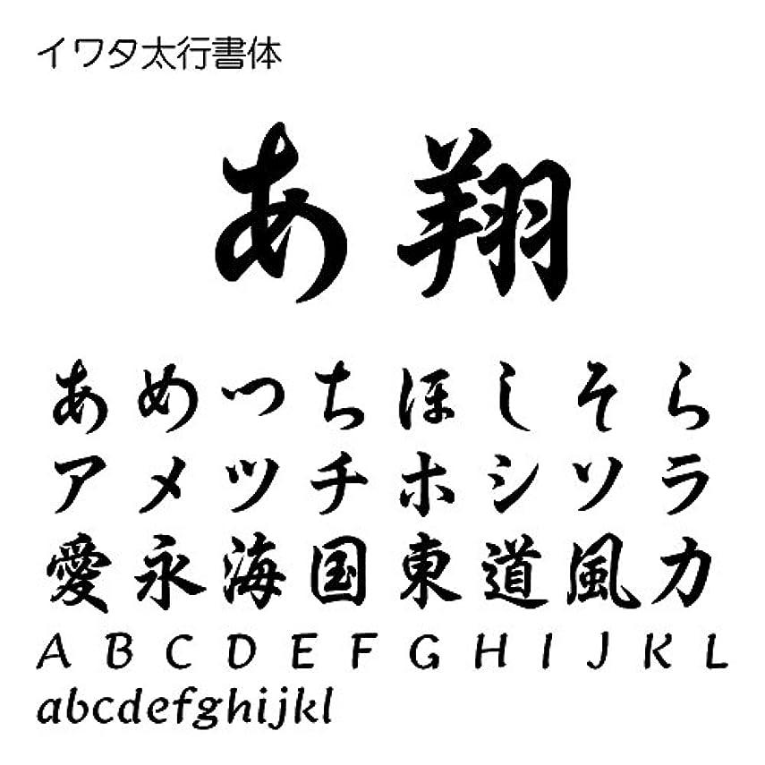 重量検閲世界的にイワタ太行書体Std OpenType Font for Windows [ダウンロード]