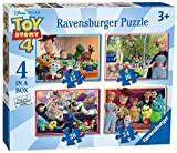 Ravensburger 6833 ディズニー ピクサー トイストーリー 4 4 箱入り (12、16、20、24ピース) ジグソーパズル マルチカラー