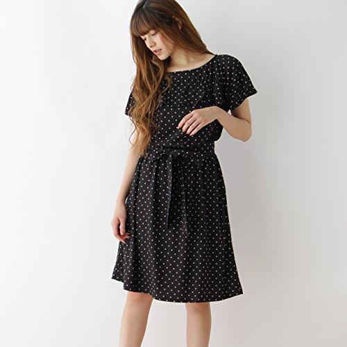 (クチュールブローチ) Couture Brooch 【WEB限定サイズ(S)】ネックフリルワンピース 50853201 38(M) ブラック(119)