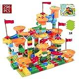 コースター積み木おもちゃ ブロック 立体パズルおもちゃ DIY積み木 知育玩具 子供用 想像力 創造力育てる ジャングル大冒険 296個セット