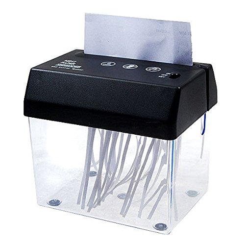 USB電池両対応卓上ミニシュレッダー レターオープナー