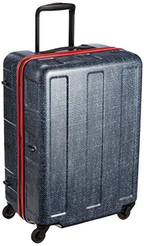 [プラスワン] PLUS ONE 軽量スーツケース ブーン 57L 3.2kg 3~5泊対応 シューズケース2個付き