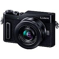 パナソニック ミラーレス一眼カメラ ルミックス GF90 ダブルレンズキット 標準ズームレンズ/単焦点レンズ付属 ブラック DC-GF90W-K
