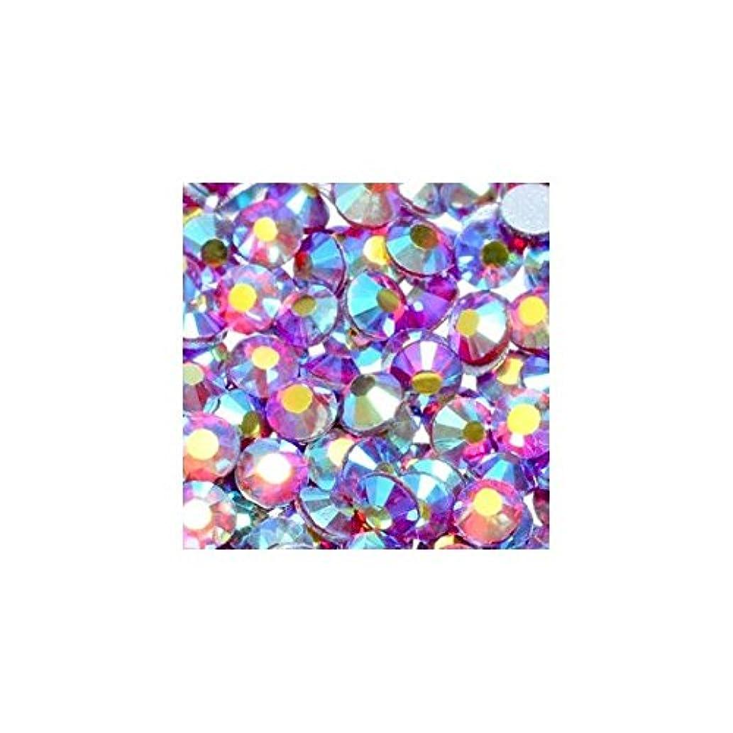 壁シーン致命的高品質クリスタルガラスラインストーン オーロラ ライトシャム Siam AB(SS6) 10Gross 約1440粒