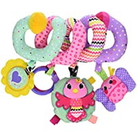 Infantino Spiral Activity Toy, Pink by Infantino [並行輸入品]