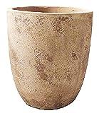 アンティーク調 テラコッタ製植木鉢 ルーガ アンティコ アルトエッグ 43cm 大型植木鉢
