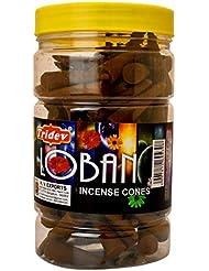 Tridev Loban Incense Cones Jar 225グラムパック
