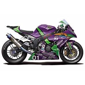 フジミ模型 1/12 バイクシリーズ No.10 エヴァ RT 初号機 トリックスター FRTR Kawasaki ZX-10R 2011