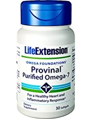 Life Extension - PROVINAL® Purified Omega-7 - 30??????? 海外直送品