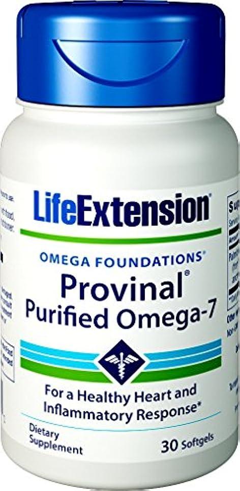 代理人弱まるマイルドLife Extension - PROVINAL® Purified Omega-7 - 30??????? 海外直送品