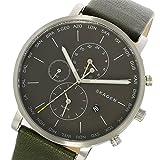 スカーゲン SKAGEN ハーゲン HAGEN ワールドタイム クオーツ メンズ 腕時計 SKW6298 チャコール