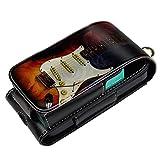 Evis Club iQOS アイコス 専用 レザー ケース 多収納 & ベルトフック 付 [ ギター コレクション Fender 4112 ] 電子たばこ iQOS デザイン ケース 保護 ポーチ カバー