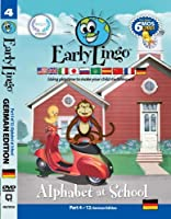Early Lingo Alphabet at School DVD (Part 4 German) by Early Lingo [並行輸入品]