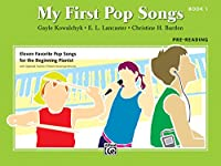 My First Pop Songs Book 1: Pre-Reading (My First...)
