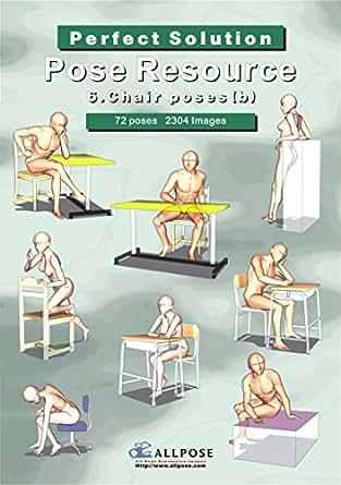 Pose Resource 6 Chair b
