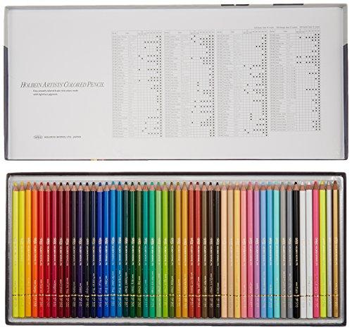 ホルベイン アーチスト色鉛筆 50色セット
