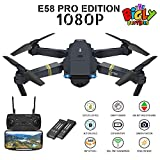 E58 Drone with Camera 120 wide angle, gesture control, Altitude hold, 1 key takeoff landing, 1 key 360 flip