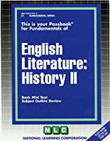 English Literature: History