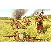 マスターボックス 1/35 イギリス 歩兵4体 スコットランド兵 ほふく前進 バグパイプ付 プラモデル MB3547