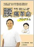 【上田式】腰痛改善法~1日5分から始める、自宅簡単エクササイズ~[DVD]★クッション・コルセット・椅子・ベルトで駄目だった方もOK!★