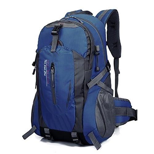 (ラント ベル)Rant Bell 登山用リュック 大容量 バックパック 7ポケット 撥水加工 (ネイビー)