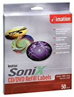 Imation Sonix CD/DVD Label Refill (Model 15954 50-Pack) [並行輸入品]